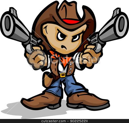 Gun Shot clipart cowboy gun Kid Guns Aiming Aiming Cowboy