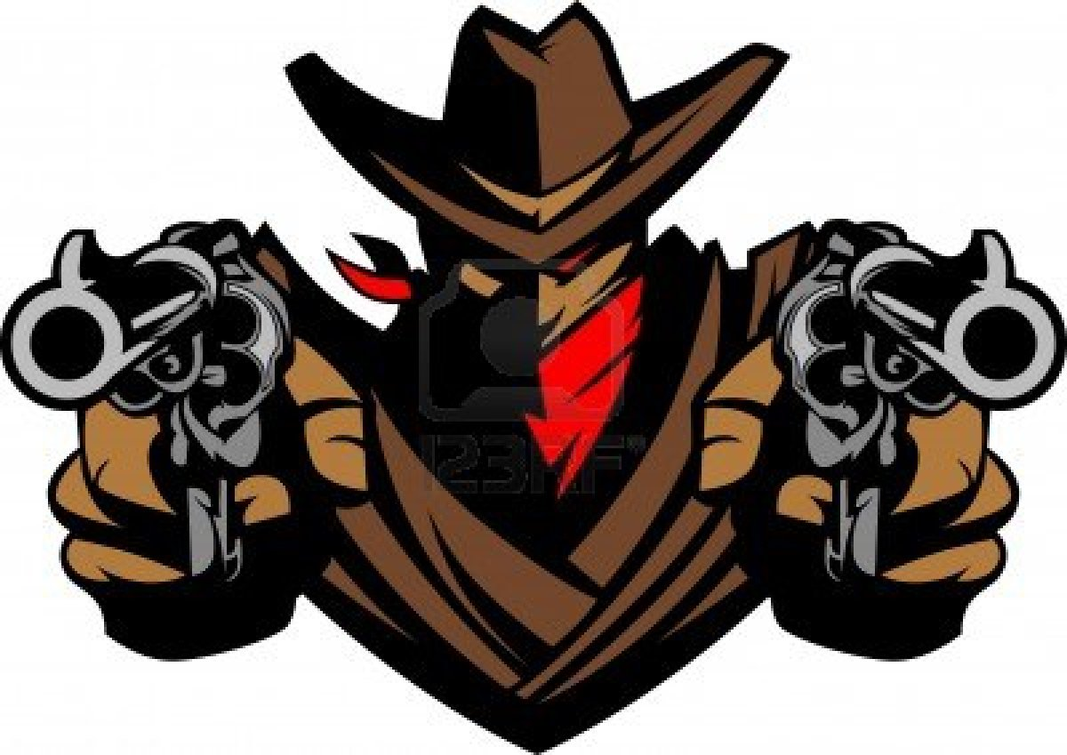 Gun Shot clipart cowboy gun Download gun Cowboy Art Shooting