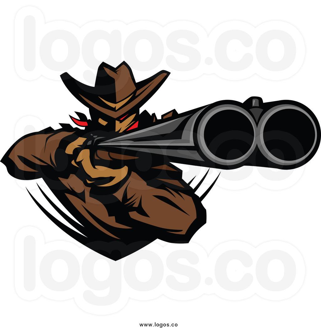 Rifle clipart logo Clipart Shotgun Shotgun Double Barrel