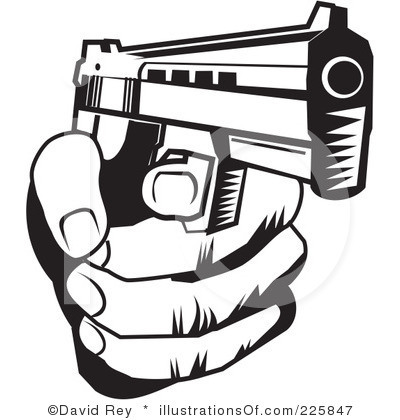 Gun Shot clipart gun violence Free Guns 225847 Gunplay royalty