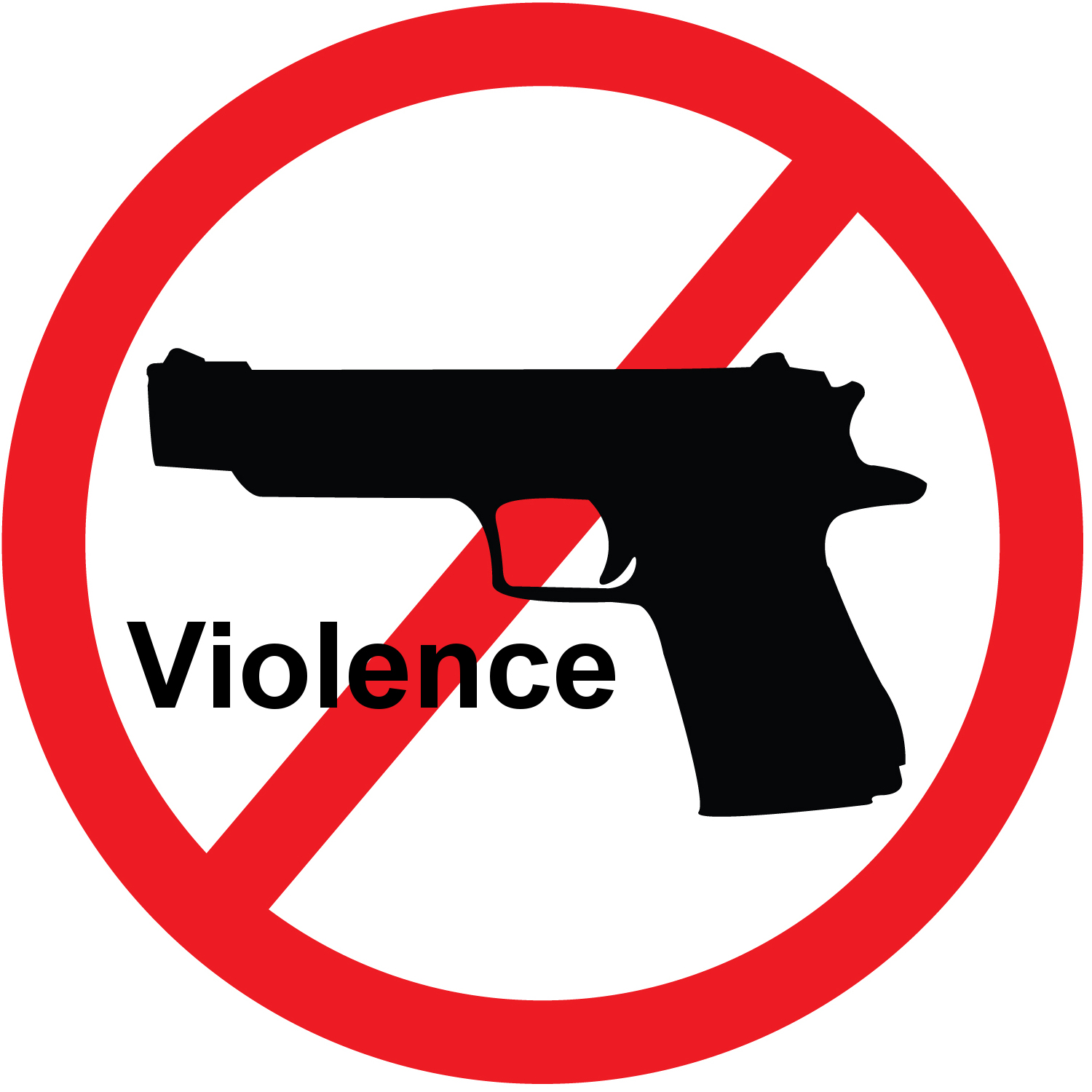 Violence clipart bad person Few Another Questions Shooting Answers