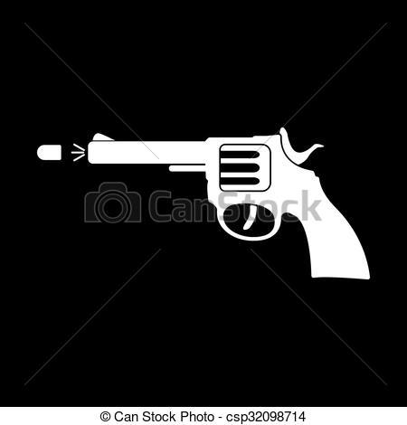 Gun Shot clipart handgun Symbol revolver Clip The gun