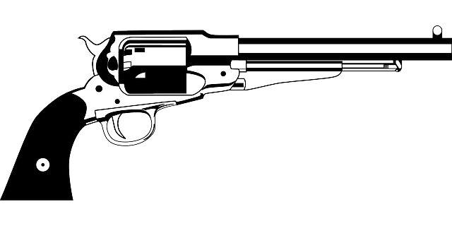 Gun Shot clipart handgun Action Arma Revolvers and Revolver