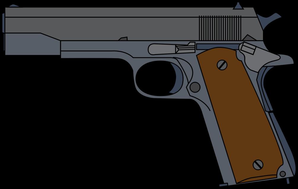 Shotgun clipart transparent background #19 clipart Pistol Download drawings