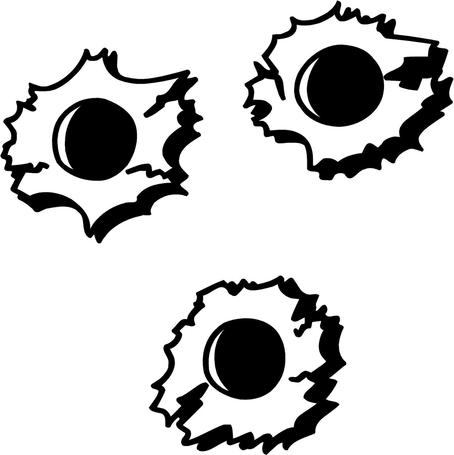 Black Hole clipart bullet hole Hole Clipart Free library Clip