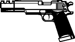 Gun Shot clipart m16 Art Art Gun Clip Art