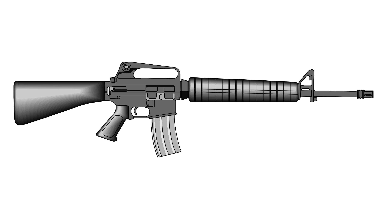 Gun Shot clipart m16 Assembling effect gun sound YouTube