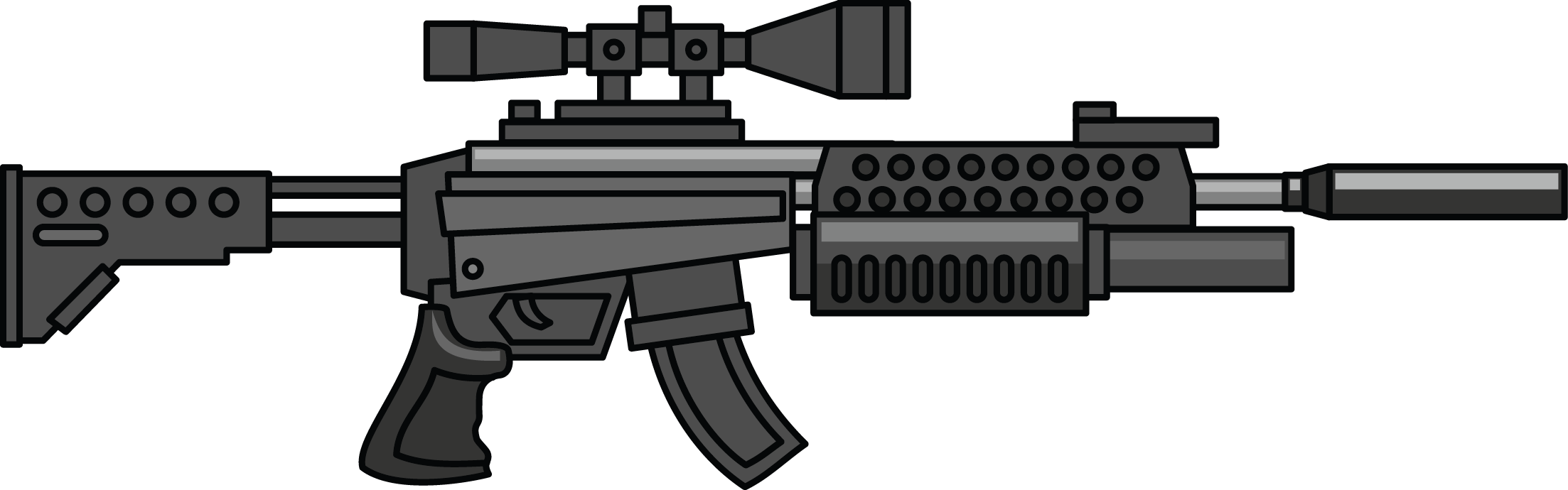 Snipers clipart transparent Clip art image Gun military