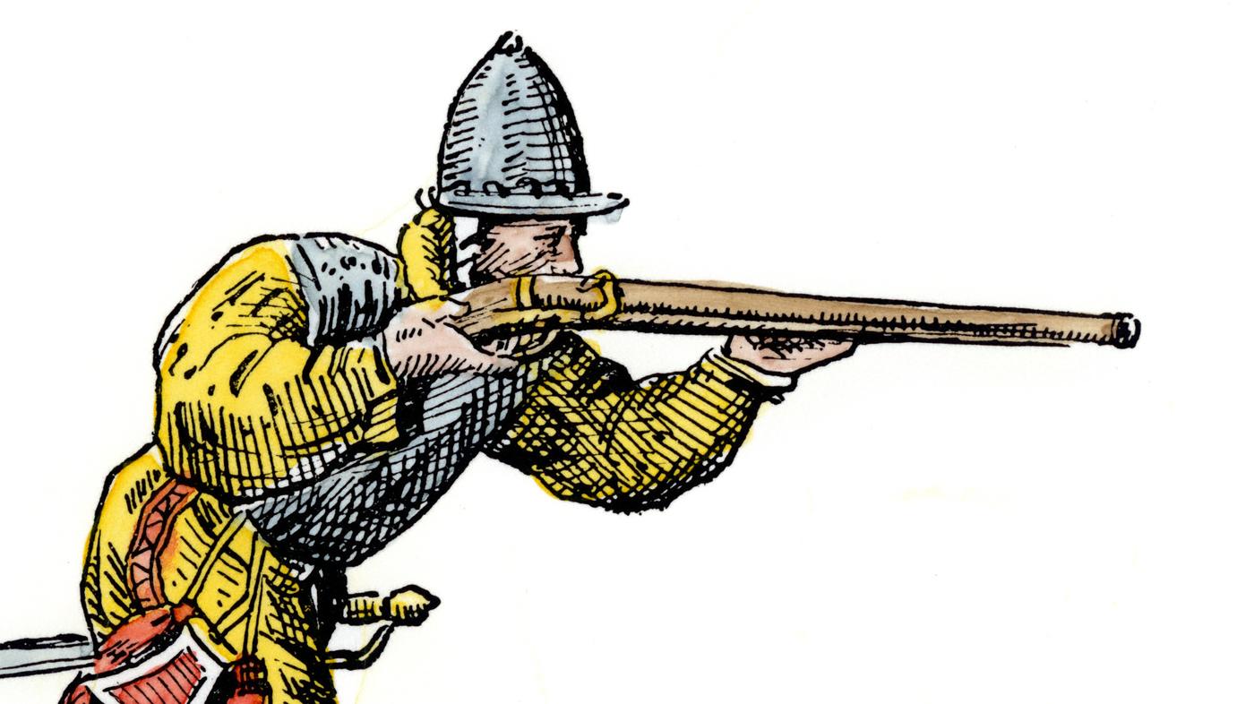Gun Shot clipart musket In  Gun The First