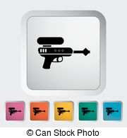Gun Shot clipart pictogram Pistol Gun Vectors Clip of