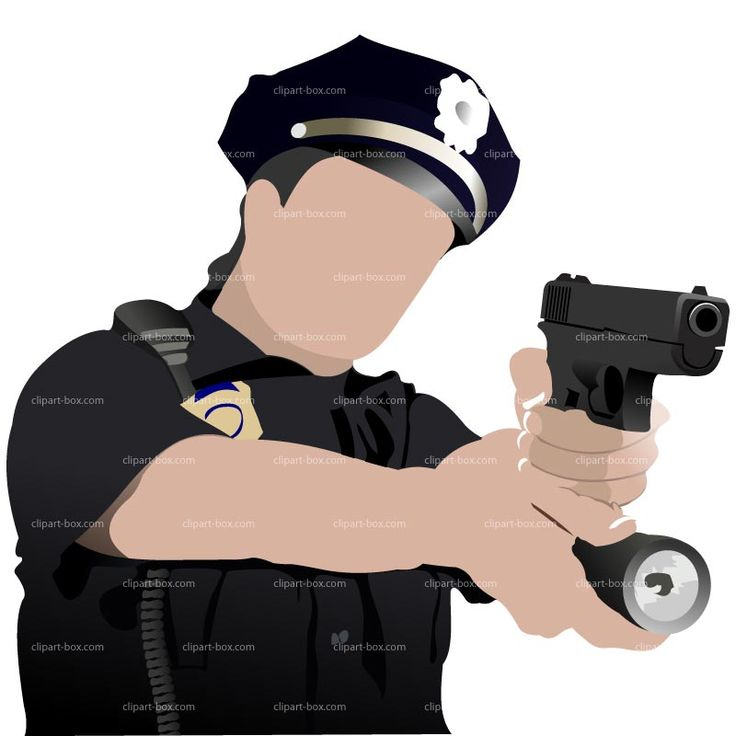 Gun Shot clipart police gun Pin Police 296 and Police