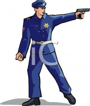 Police clipart policman Clipart Shooting Clipart Gun Clipart
