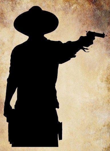Shooter clipart silhouette Gun png Shooting 00 Pinterest