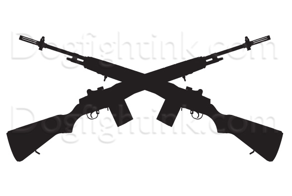 Sniper clipart crossed rifle Panda Rifle Images Clipart Clipart