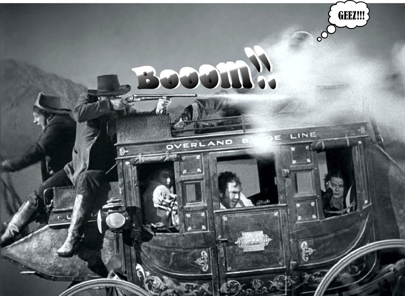 Gun Shot clipart stagecoach My Westerns Stagecoach blast shotgun