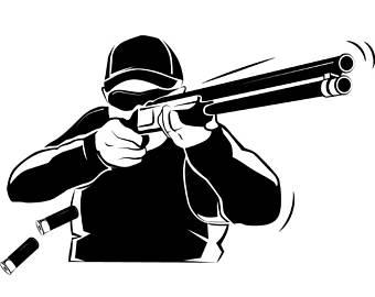 Shotgun clipart shooting sport Game Sports EPS Targets USPSA