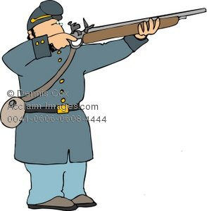 Shooter clipart war gun Era Soldier Soldier American Rifle