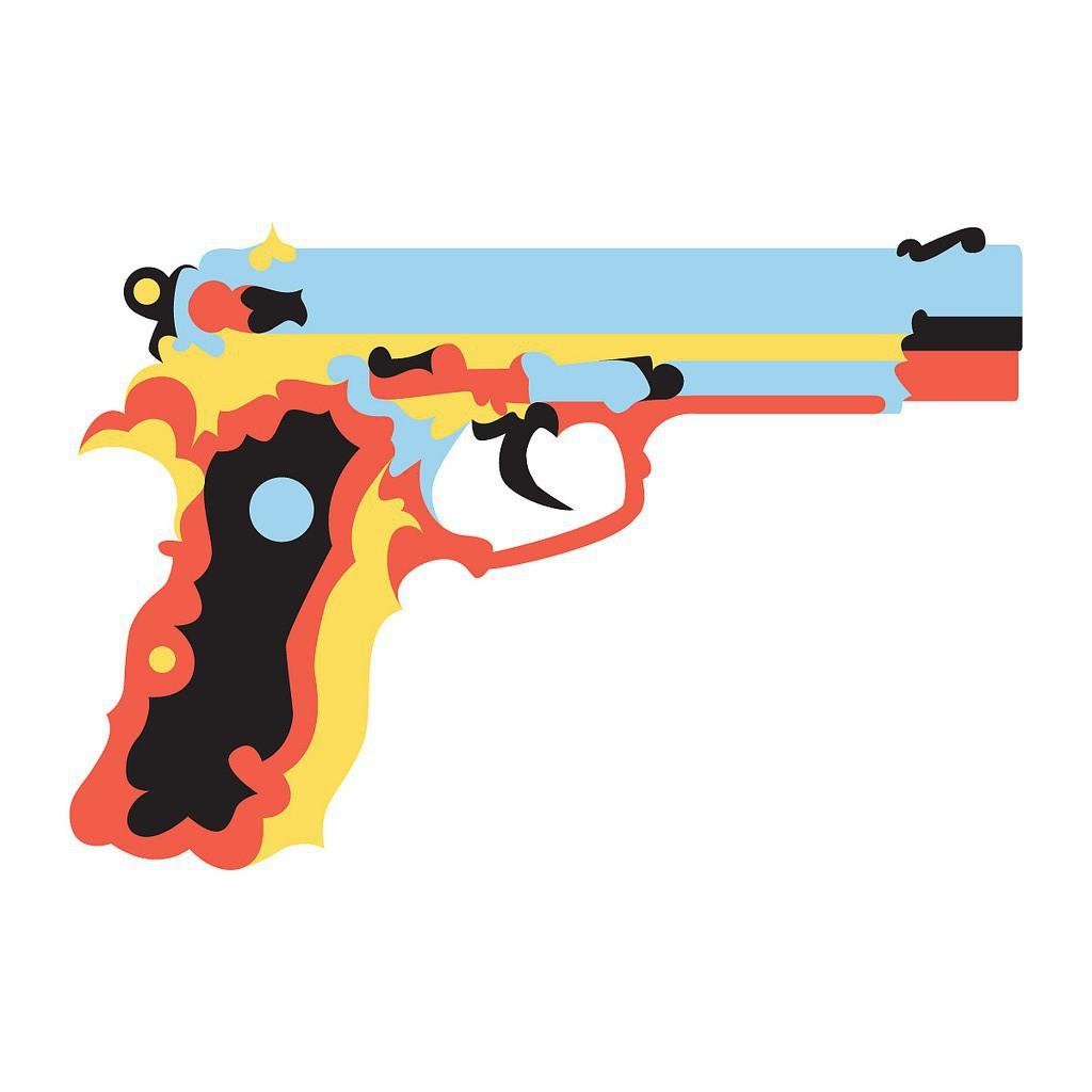 Gun Shot clipart weapon Www handgun source: Billy Chicken