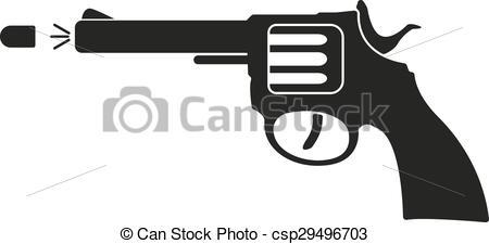 Gun Shot clipart weapon Gun of and The Pistol