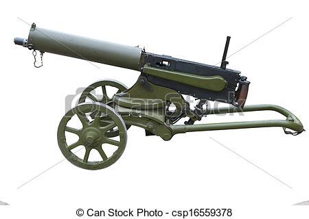 Gun Shot clipart ww1 Cannons Clip Clip Art –