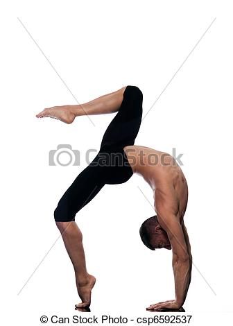 Gymnast clipart acrobatic gymnastics Acrobatics Man 14 and caucasian