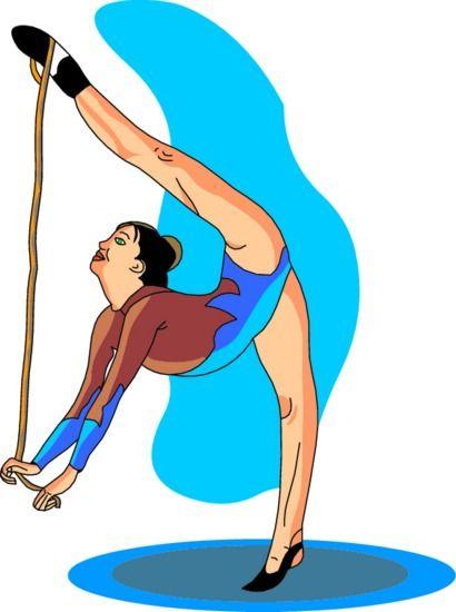 Gymnast clipart animated Gymnastics WikiClipArt clipart Animations Animations