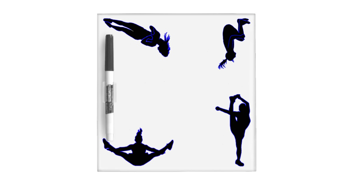 Gymnast clipart back tuck On Silhouettes Tuck Back Erase