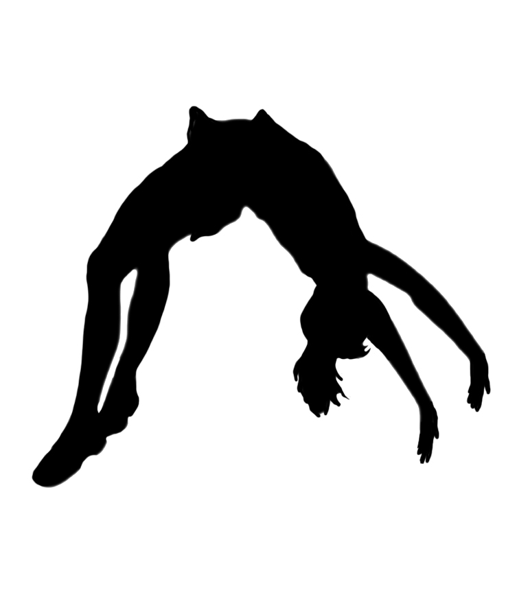 Gymnast clipart back tuck Cliparts clipart Back Handspring ·