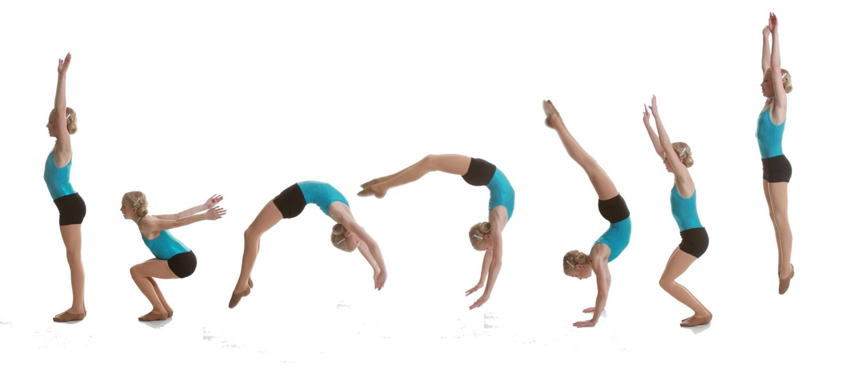 Gymnastics clipart back handspring WikiClipArt clipart images Tumbling tumbling