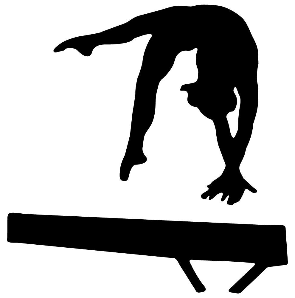Gymnast clipart back tuck Images Gymnastics Free Panda Leap