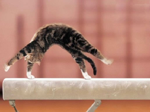 Gymnast clipart backbend Free free doing a Gymnastics