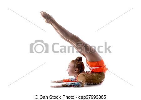 Gymnast clipart backbend Beautiful dancer Image  doing