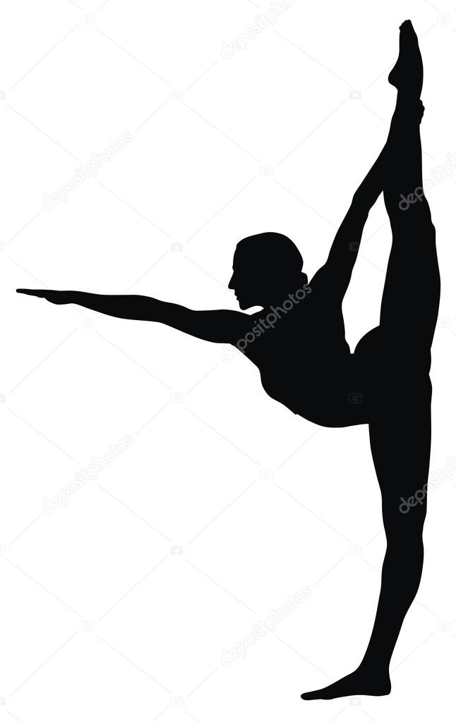 Gymnast clipart black and white White Bars Parallel clipart Black