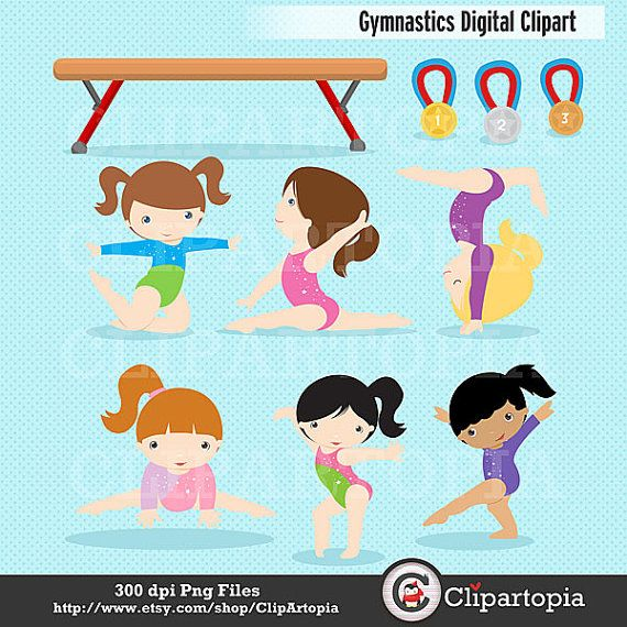 Gymnast clipart cartoon About Cute Use deporte Clipart