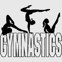 Gymnastics clipart i heart Gymnastic in cartwheels youngest Free