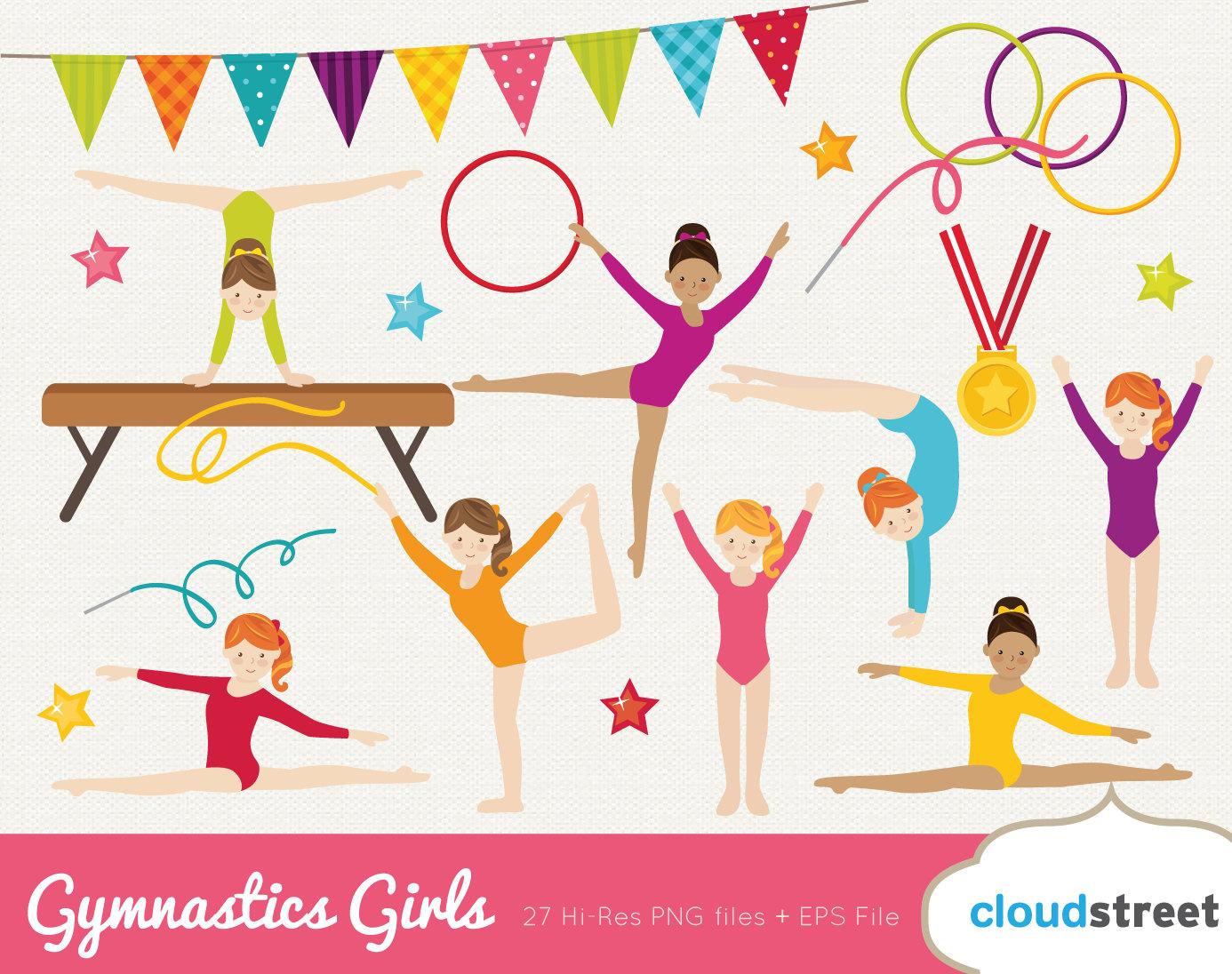 Box clipart gymnastics Gymnastic clipart clip cute /