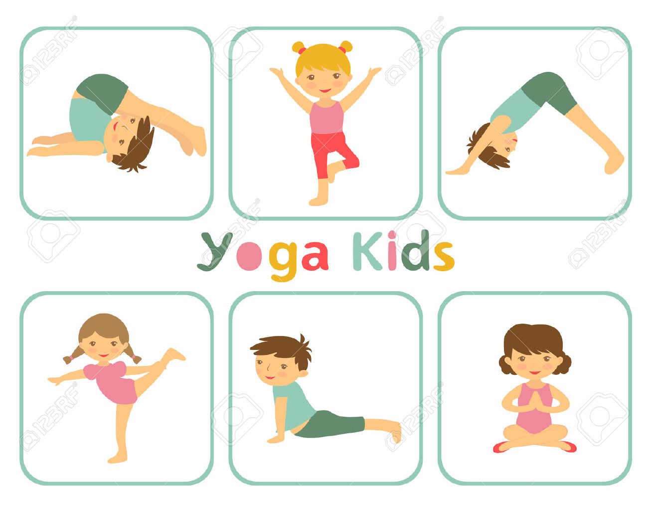 Gymnast clipart child yoga Clipart Free Yoga Clipart Clipartwork