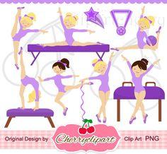 Gymnast clipart cute Personal making IMÁGENES ballet imagenes