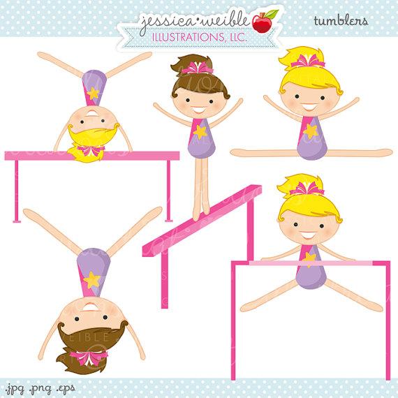 Gymnastics clipart glitter Clipart  Gymnastics Cute