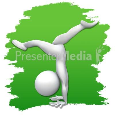 Gymnast clipart flexibility Gymnastics Gymnastics Art Clip Figure