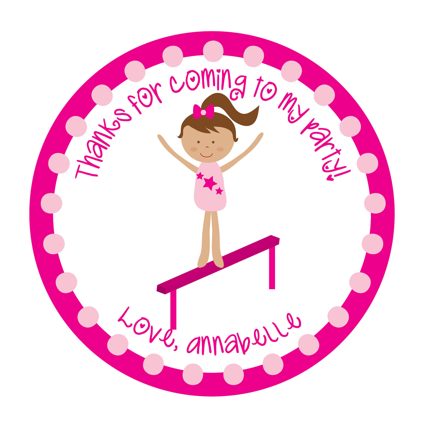 Gymnastics clipart birthday party Free art clipart clip gymnastics