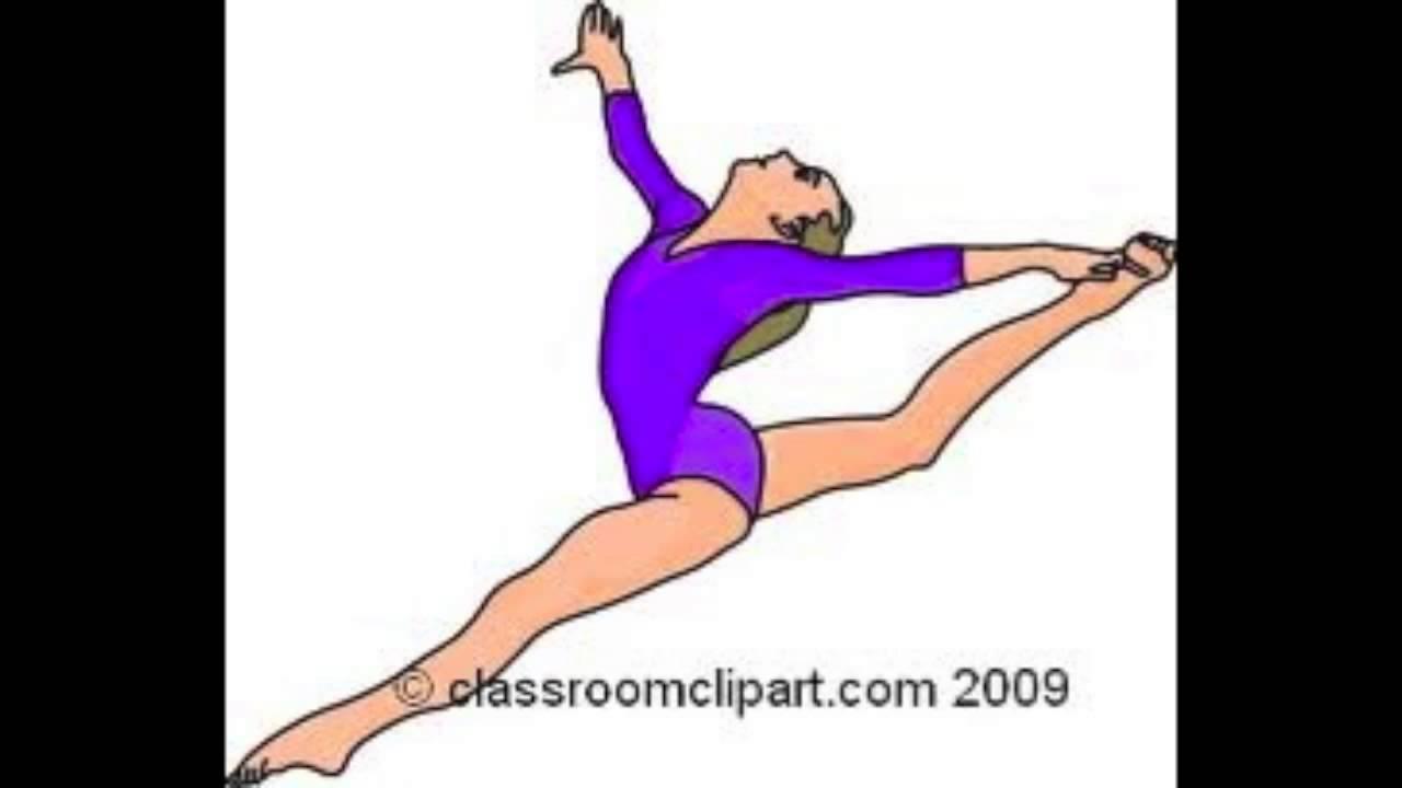 Gymnast clipart floor Floor Let it Frozen Go
