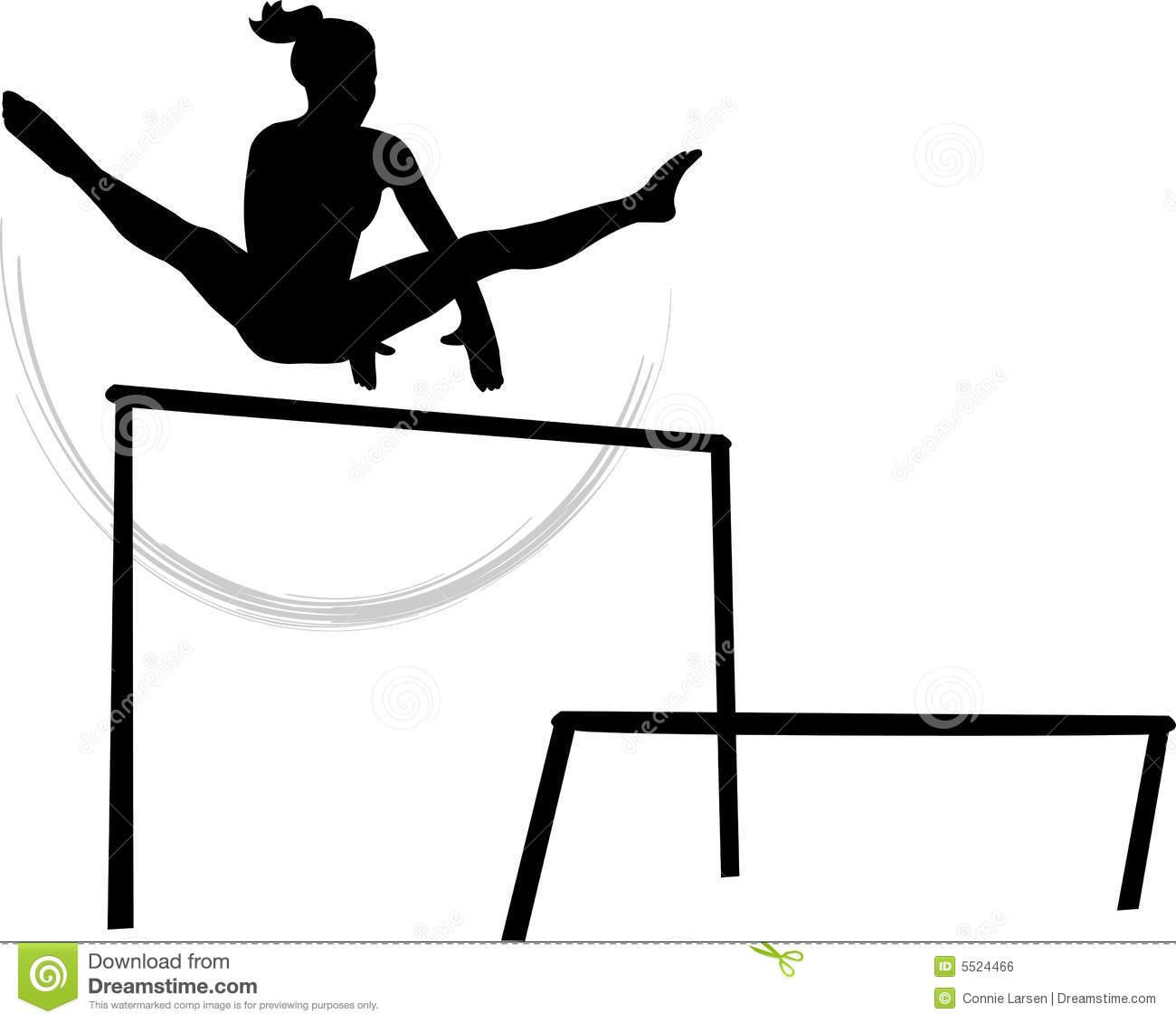 Gymnast clipart gymnastics bar Clipart clipart Clipart  clipart
