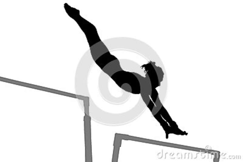 Gymnast clipart gymnastics bar Clipart Clip Clipart  clipart