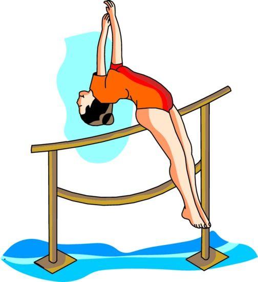 Gymnast clipart gymnastics bar 2 gymnastics Gymnastics WikiClipArt free