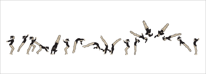 Gymnastics clipart back handspring The Off: Layout What are