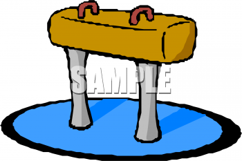 Gymnast clipart gymnastics equipment Clipart of Picture  Gymnast's
