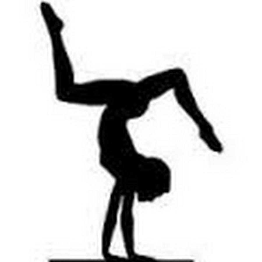 Gymnast clipart gymnastics handstand YouTube  Flippin Anna