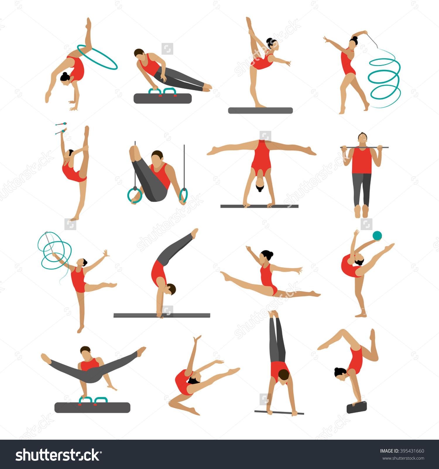 Gymnast clipart gymnastics moves \x3cb\x3egymnast\x3c/b\x3e Clipart Clipart gymnastics Moves
