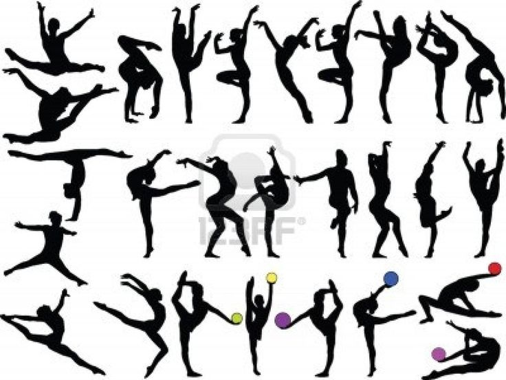 Gymnast clipart gymnastics moves Ideas moves on Gymnastics 25+